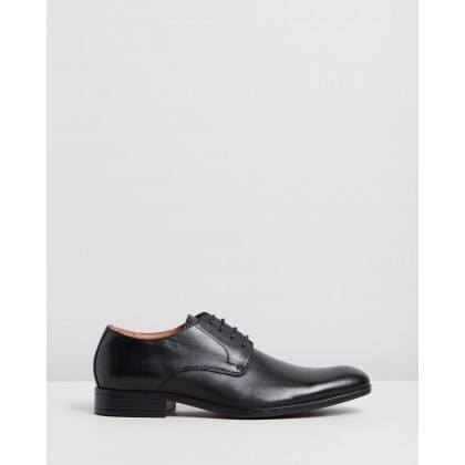 Encore Derby Performance Shoes Black by Jeff Banks