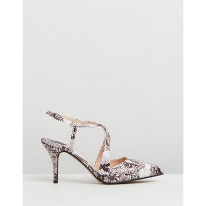 Enigma Wide Fit Courts Snake by Dorothy Perkins