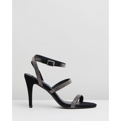 Equal Black Crystal by Steve Madden