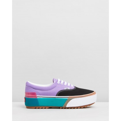 Era Stacked - Women's Confetti Fairy, Wren & Sea Green by Vans
