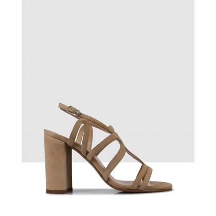 Erica Block Heels Desert by Sempre Di