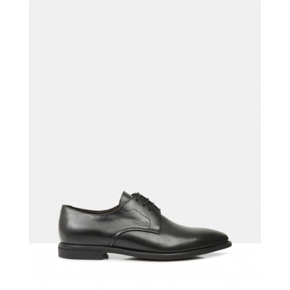 Esteban Triple E fitting Lace Ups Black by Brando