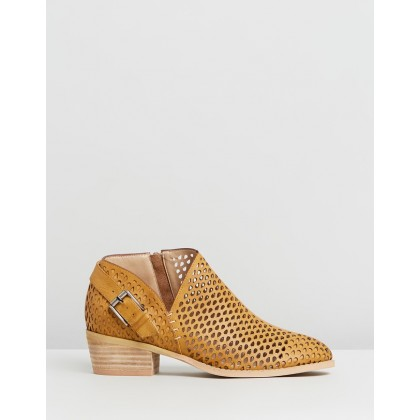 Esther Camel Faux Leather by Ko Fashion