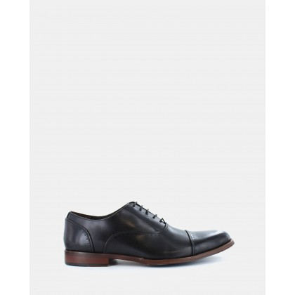 Ethan Dress Shoes Black by Wild Rhino