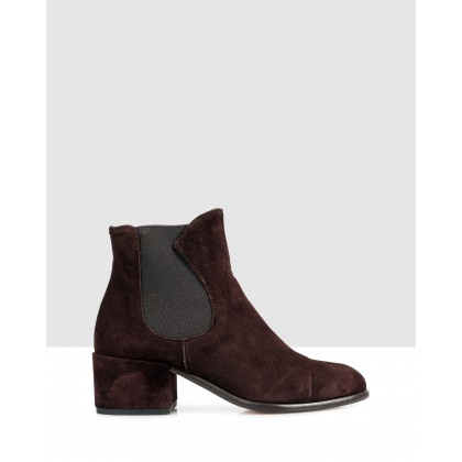 Eton Ankle Boots Dark Brown/dark brown by Beau Coops