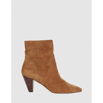 Event Tan Suede by Jane Debster