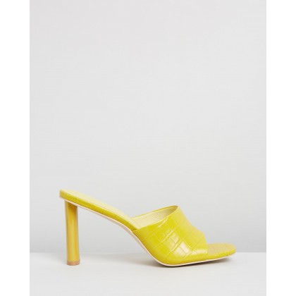 Exclusive - Candy Crush Mules Sorbet Yellow by Manning Cartell