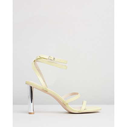 Exclusive - Natural Selection Heels Sorbet Yellow by Manning Cartell