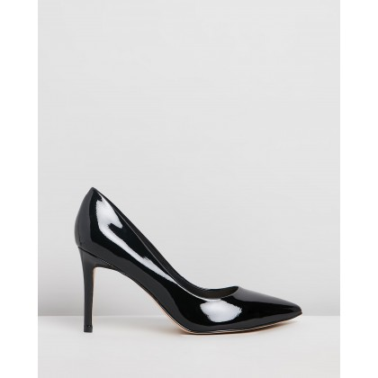 Ezra Black Patent by Nine West