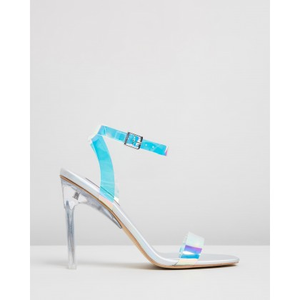 Fancy Heels Silver Holographic by Windsor Smith
