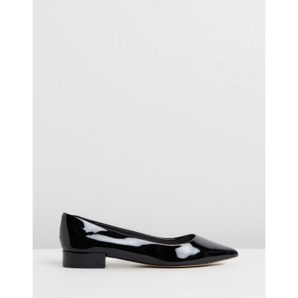 Fayth Black Patent by Nine West