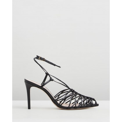 Fechado Heels Black by Schutz