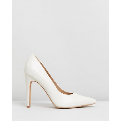 Felicia Heels Off-White Smooth by Spurr