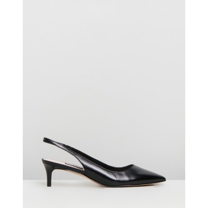 Feliks Black Leather by Nine West