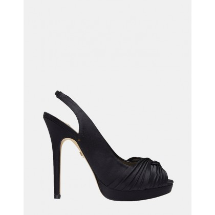 Felyce BLACK SATIN by Nina