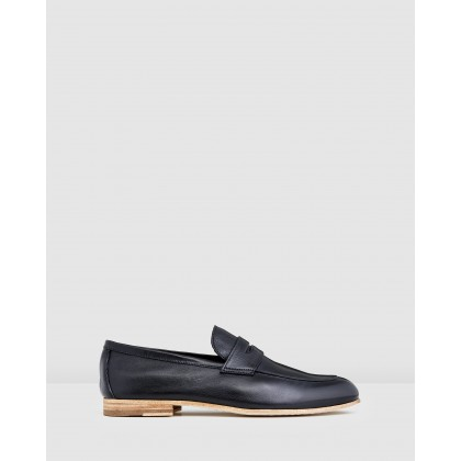 Fico Loafers Black by Aquila