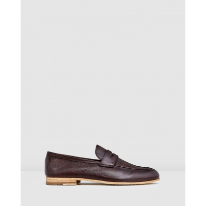 Fico Loafers Brown by Aquila