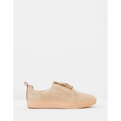 Figment Sneakers Nude by Jaggar The Label