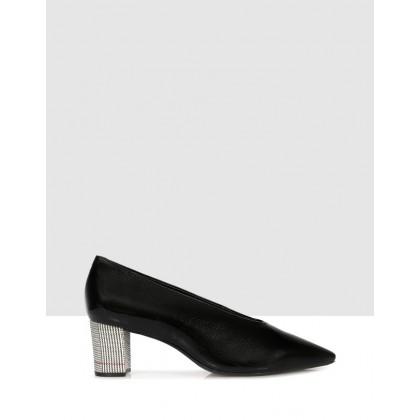 Filippa Courtshoes Black by Sempre Di