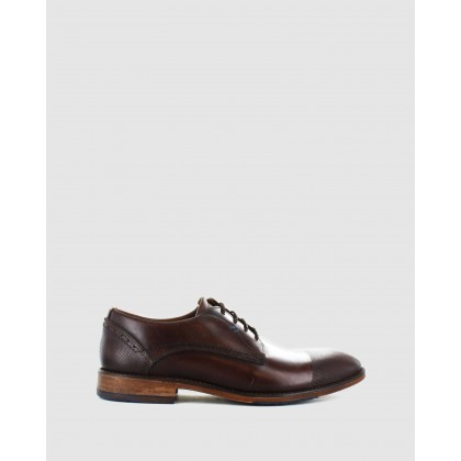Finland Dress Shoes Dark Brown by Wild Rhino