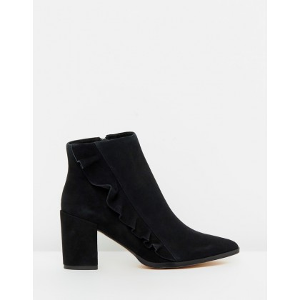 Finley Black Suede by Nude