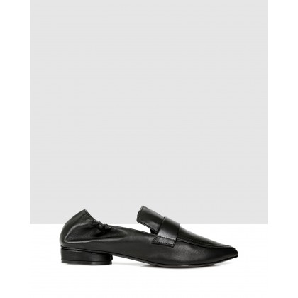 Fiona Slip Ons NERO by S By Sempre Di