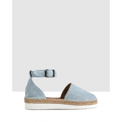 Fiordaliso Espadrilles Blue by S By Sempre Di
