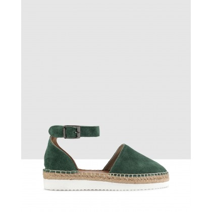 Fiordaliso Espadrilles Green by S By Sempre Di
