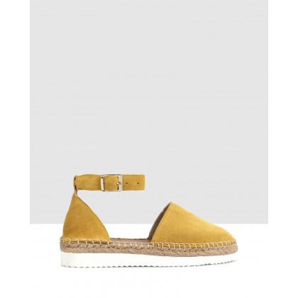 Fiordaliso Espadrilles Yellow by S By Sempre Di