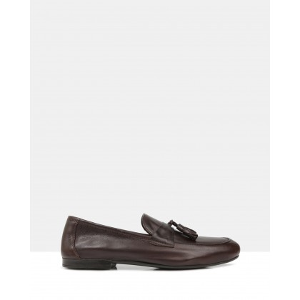 Flannery Driving Shoes Brown by Brando