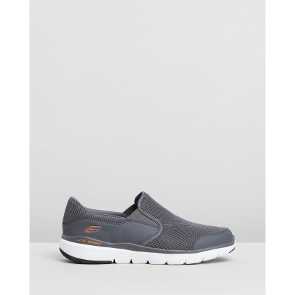 Flex Advantage 3.0 - Osthurst - Men's Charcoal & Orange by Skechers