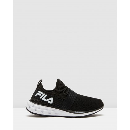 Fondato 19 Energized - Women's Black/White by Fila