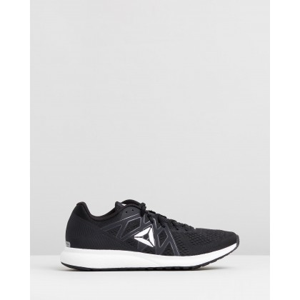 Forever Floatride Energy - Men's Black, White & Pure Silver by Reebok Performance