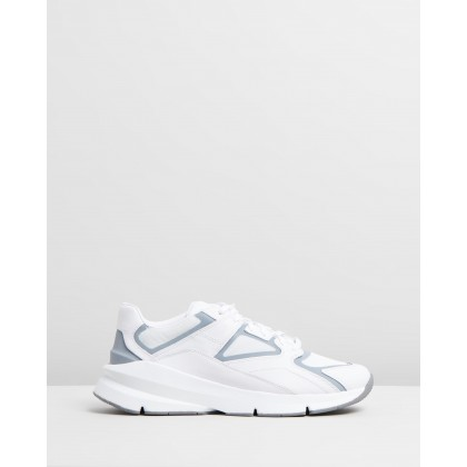 Forge 96 - Men's White, White & Reflective by Under Armour