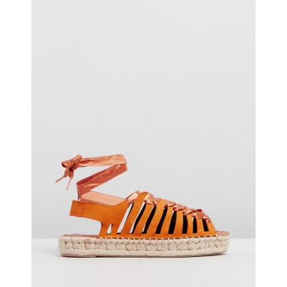 Formentera Orange by Alohas Sandals
