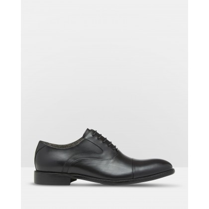 Frank Leather Oxford Shoes Black by Oxford