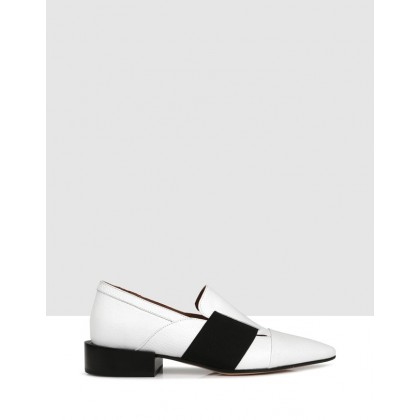 Franklin Slip Ons White by Beau Coops