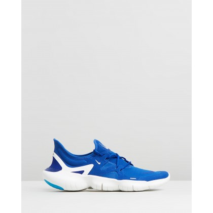 Free Run 5.0 - Men's Indigo Force & Deep Royal Blue by Nike