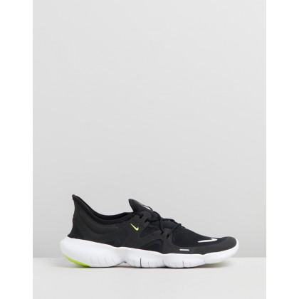 Free Run 5.0 - Women's Black, White, Anthracite & Volt by Nike