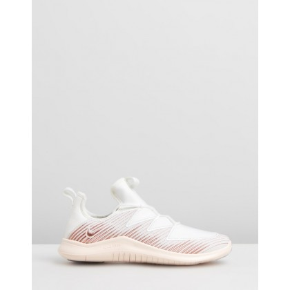 Free TR 9 - Women's Sail, Atmosphere Grey & Guava Ice by Nike