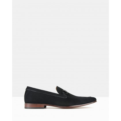 Freeze Slip On Loafers Black by Zu