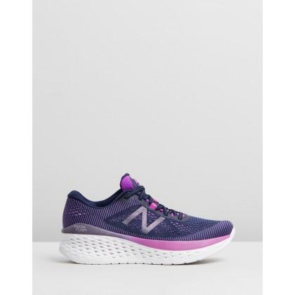 Fresh Foam More - Women's Purple & Blue by New Balance