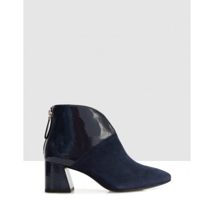 Fulvia Ankle Boots NAVY by S By Sempre Di