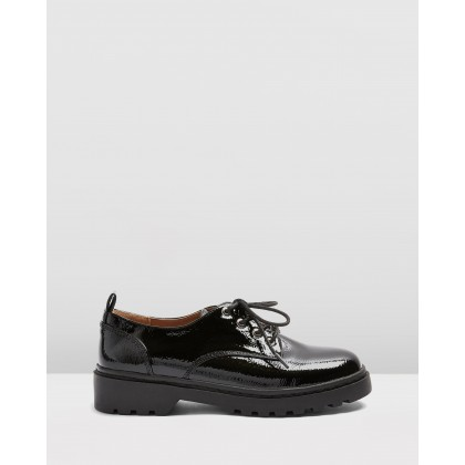 Furnace Patent Shoes Black by Topshop