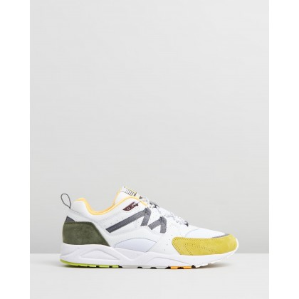 Fusion 2.0 - Men's Bright White & Celery by Karhu