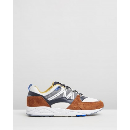 Fusion 2.0 - Men's Leather Brown & Night Sky by Karhu