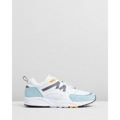 Fusion 2.0 - Unisex Bright White & Tourmaline by Karhu
