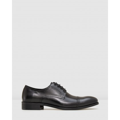 Galway Lace Ups Black by Aq By Aquila