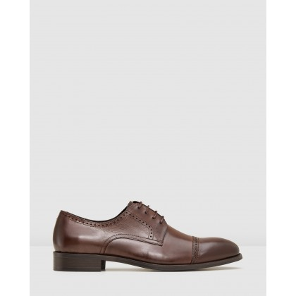 Galway Lace Ups Brown by Aq By Aquila