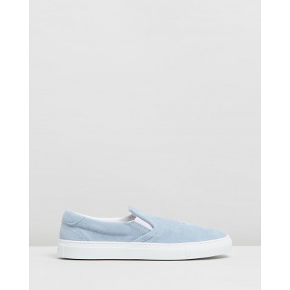 Garda Light Blue Suede by Diemme
